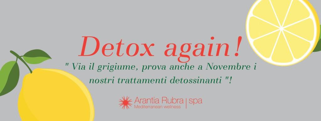 Detox again